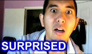 surprised image man