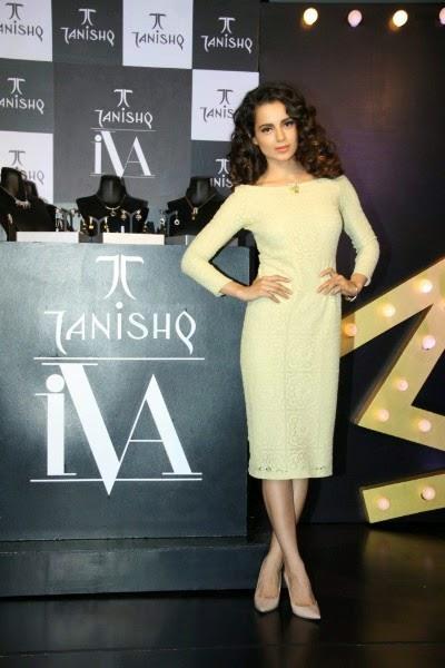 Kangana Ranaut at Tanishq IVA 2 Jewellery Launch