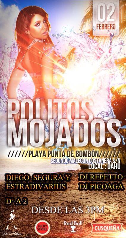 Politos Mojados - Playa punta de Bombón (02 feb)