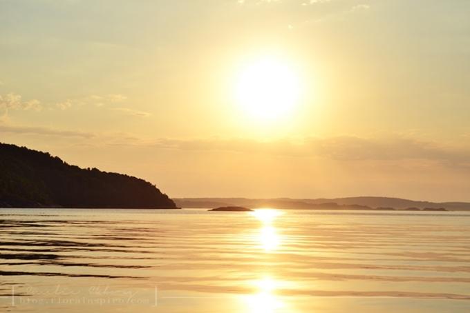the augusti break 2013, sunset,