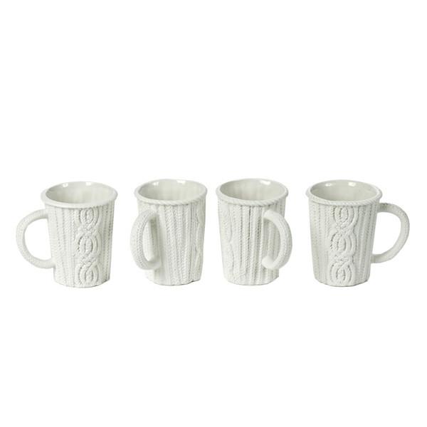 knitted mugs