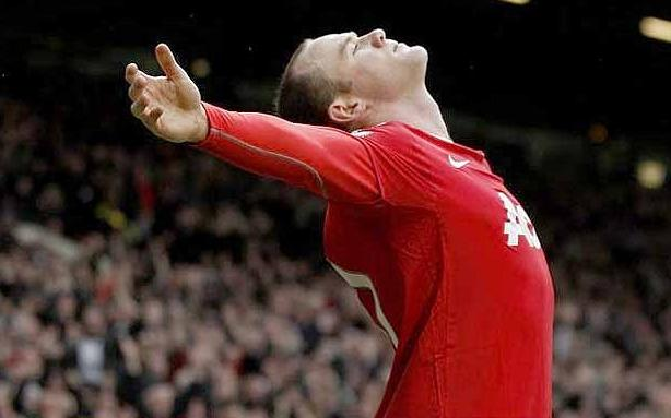 Wayne Rooney Celebration