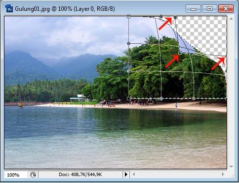 Cara Membuat Efek Foto Menggulung Dengan Photoshop