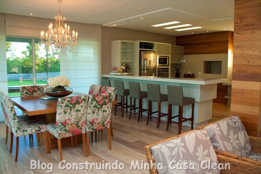 construindo minha casa clean top 10 salas de jantar decoradas e modernas. Black Bedroom Furniture Sets. Home Design Ideas
