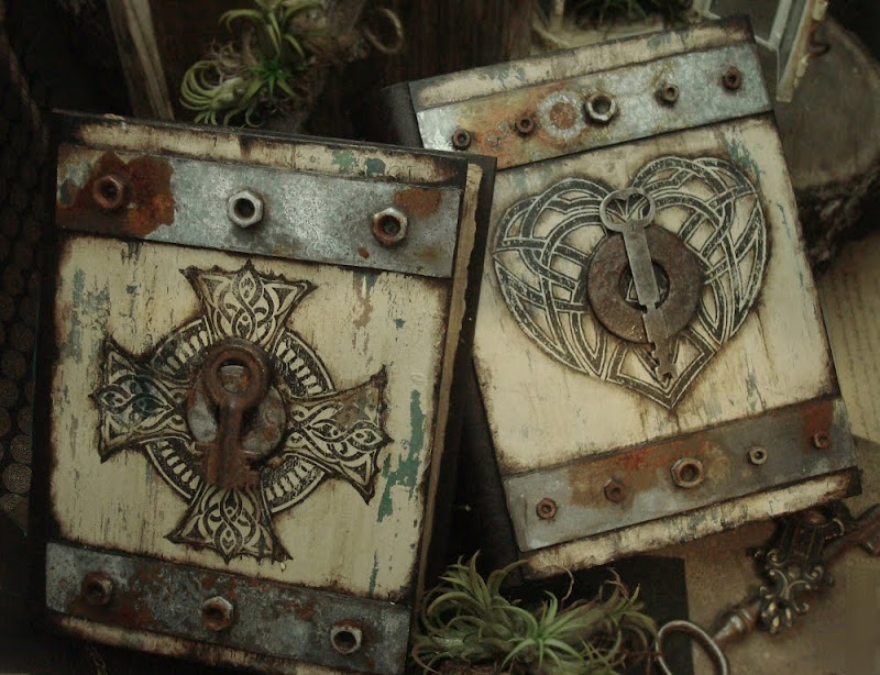 handmade journals fantasy