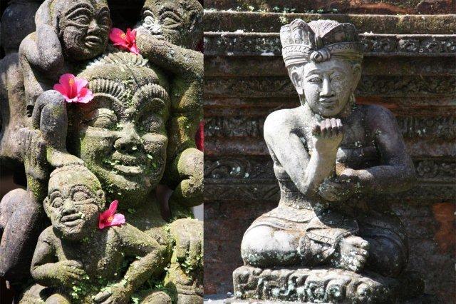 Estatuas en Ubud, Bali