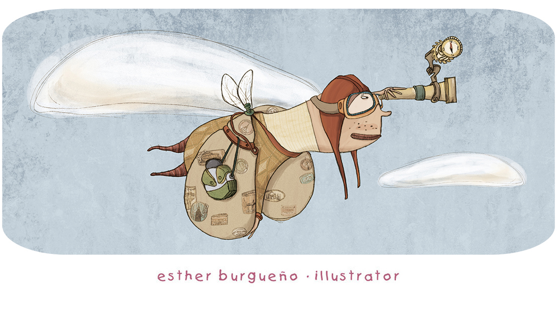 Esther Burgueño - illustrator