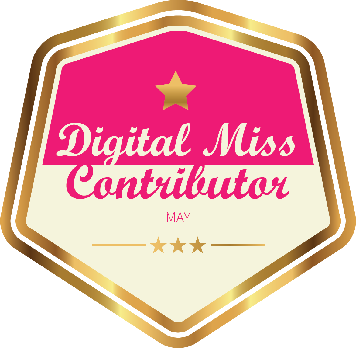 Digital Miss Contributor -May