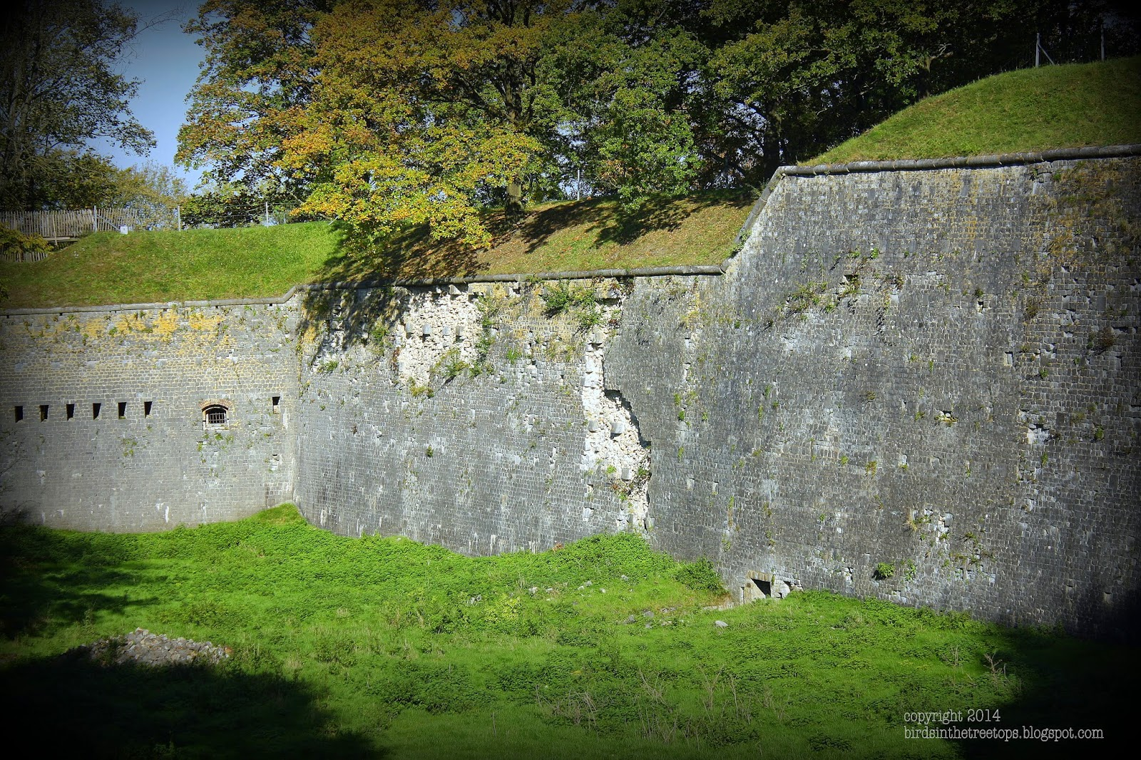Belgium, Namur, Roman, Citadel, High, Impassible, Wall
