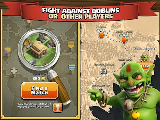 Clash of Clans apk fight against goblins