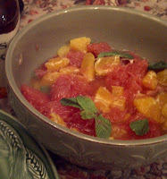 Minty Makers Mark Citrus Salad