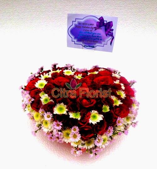 toko jual bunga valentine surabaya