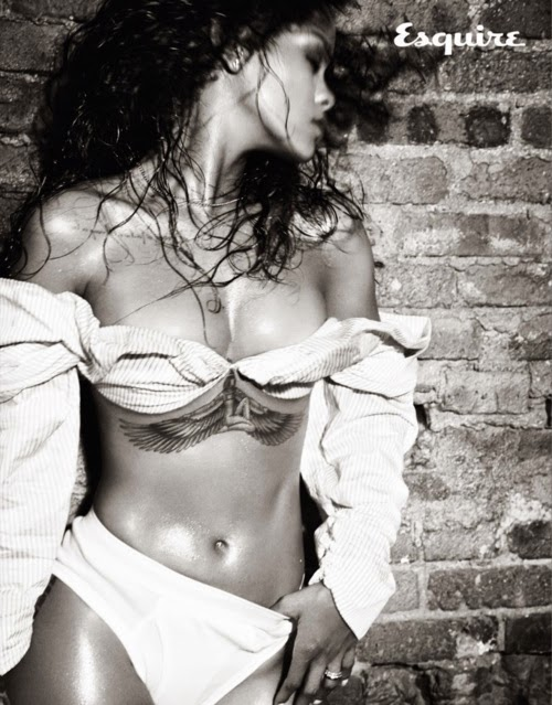 Rihanna - Esquire UK December 2014