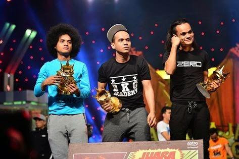 Kumpulan Zero Juara Maharaja Lawak Mega 2014