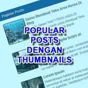 Memperbaiki Thumbnails Pada Popular Posts