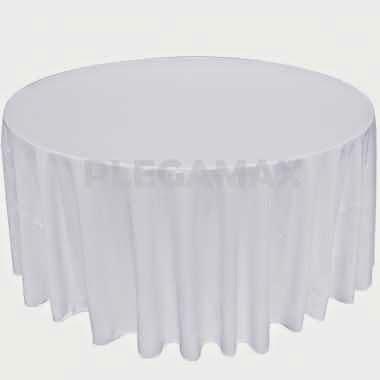 alquiler de manteles redondos color blancos consulte por alquiler de manteleria redonda en otros colores