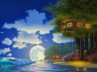 Cuadros Paisajes de Luna