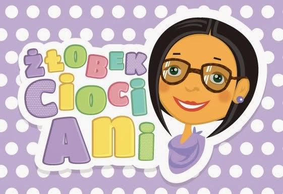 """""""Złobek cioci Ani"""" - www, logo"""