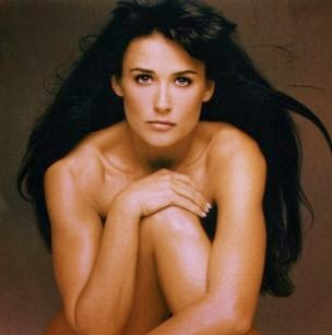 Demi moore toppless