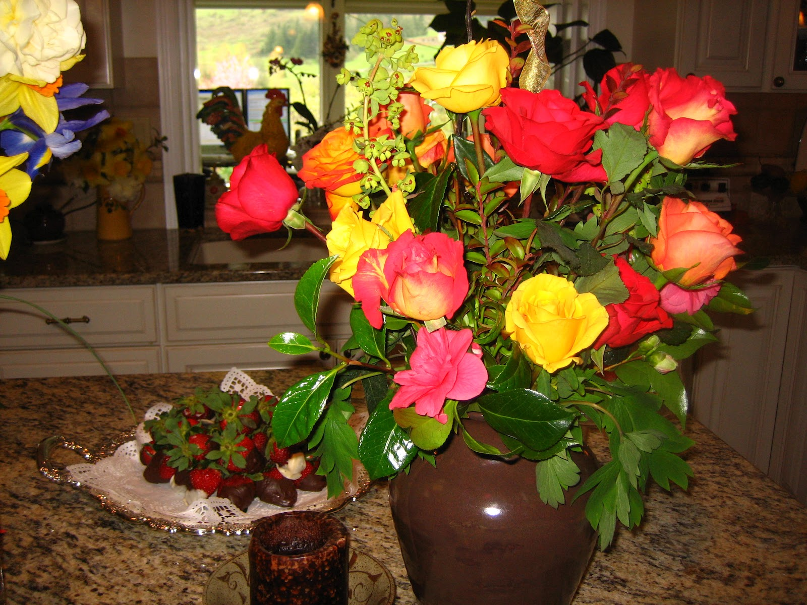 Peonies Peonies Peonies Flower Arrangement With Peonies
