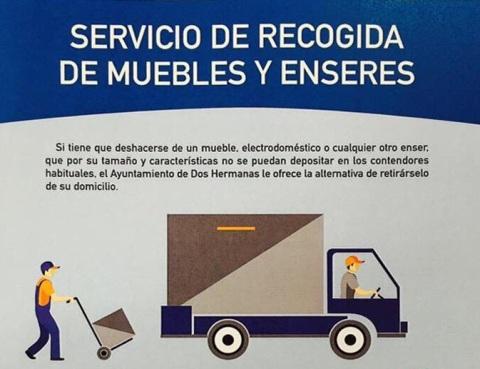 Servicio recogida de muebles madrid