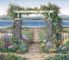 Un Jardín junto al Mar