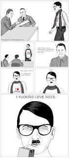 funny hipster hitler comic