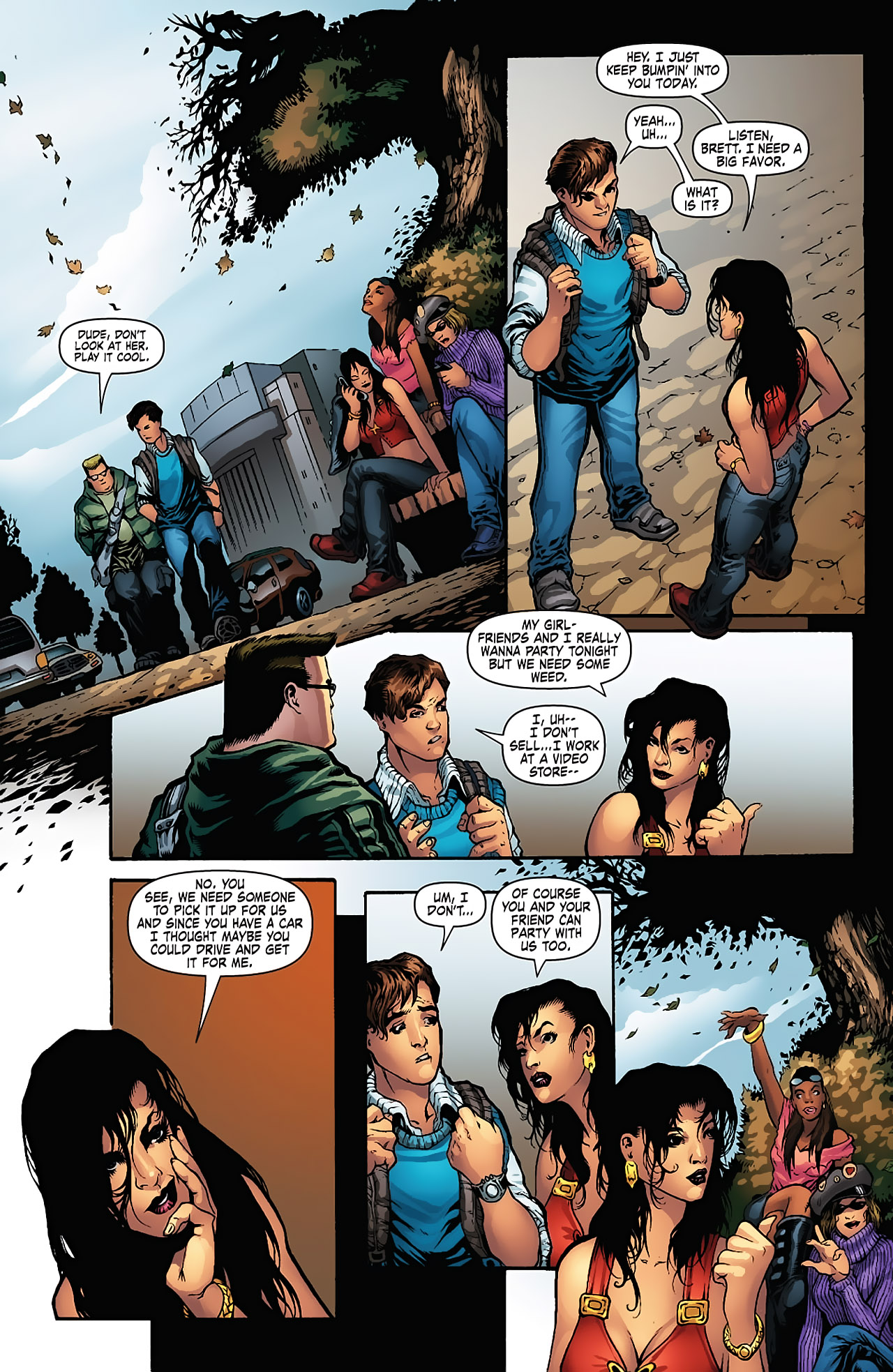 Grimm Fairy Tales (2005) Issue #5 #8 - English 4