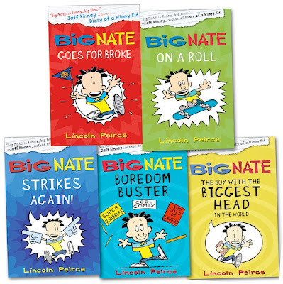 BIG NATE bookcovers