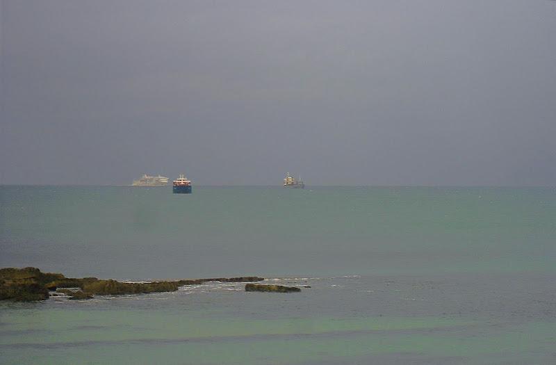 Ferry frente El Sardinero