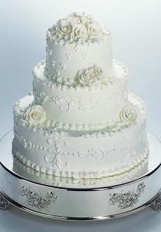 http://allstyleweddings.com/14-Inch-Round-Wedding-Cake-Tableau-Stand-CT-5575