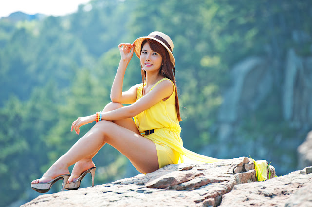 2 Cha Sun Hwa Outdoor Teaser-Very cute asian girl - girlcute4u.blogspot.com