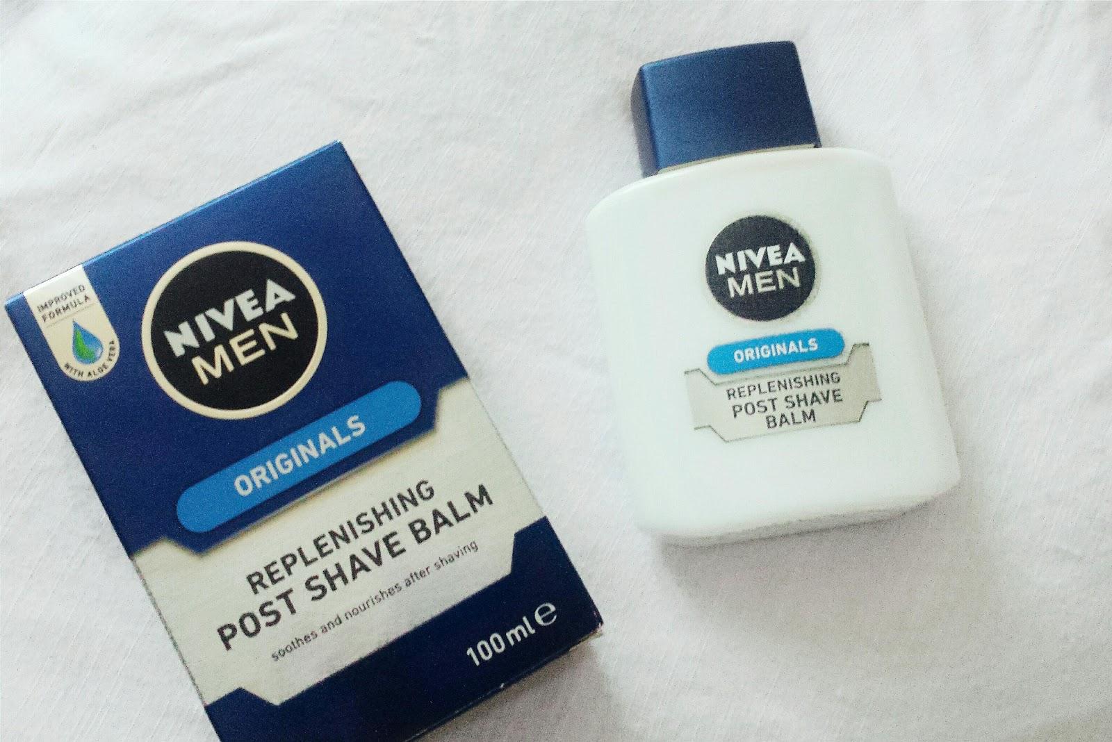 Nivea after shave balsam primer