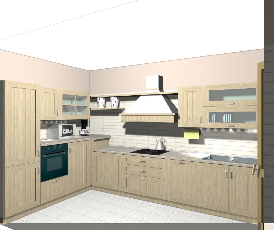 Domus arredi cucine in legno per un tocco classico - Legno per cucine ...