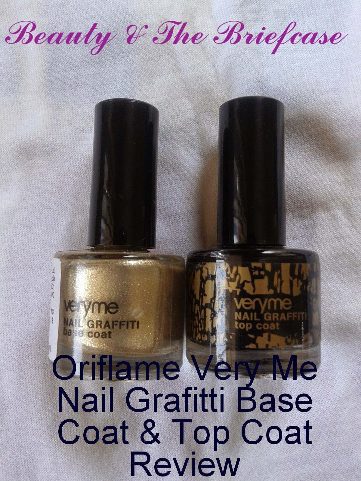 Beauty & The Briefcase: Oriflame Very Me Nail Graffiti Base Coat ...