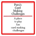 I Love Paru's Card Making Challenges