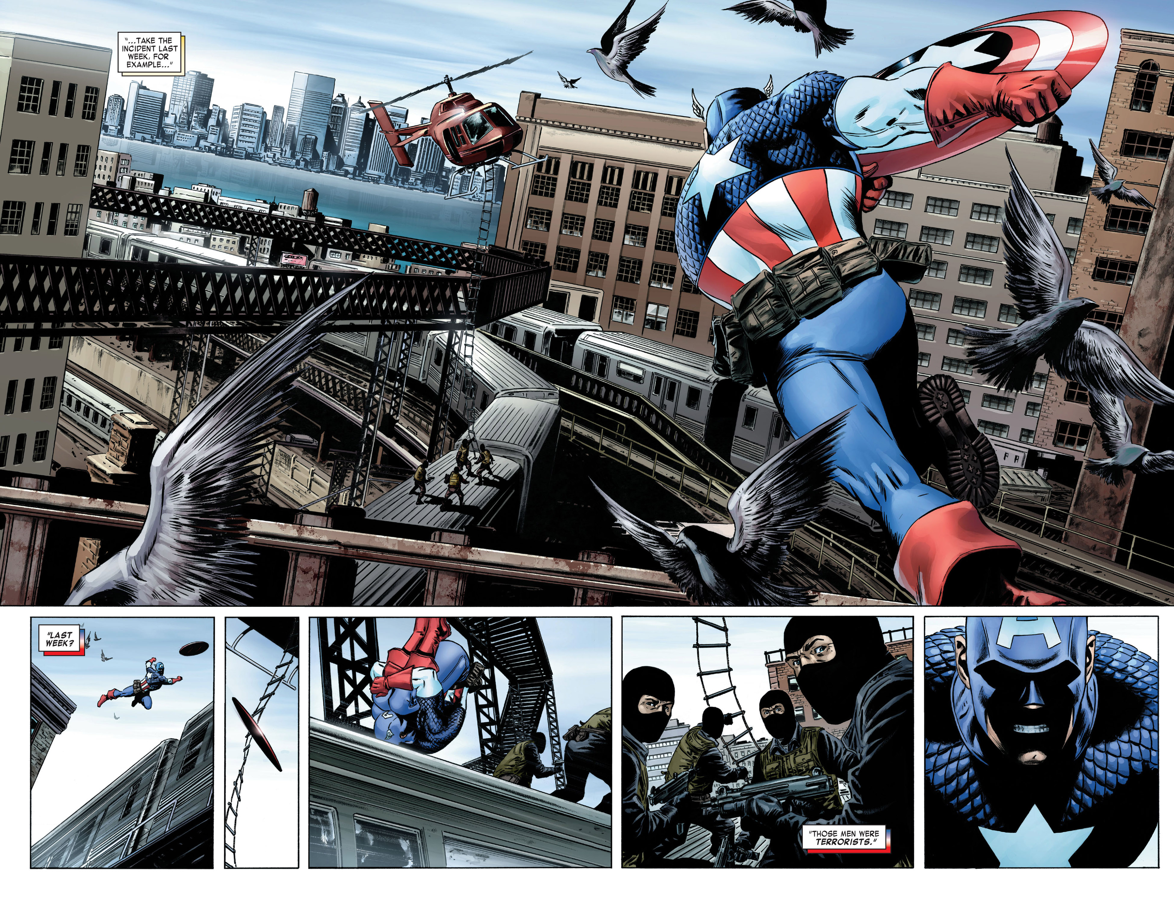Captain America (2005) Issue #1 #1 - English 13