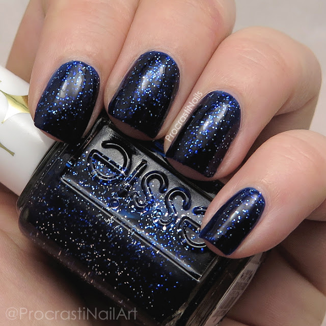 Swatch of Essie Starry Starry Night from the 2016 Retro Revival Collection