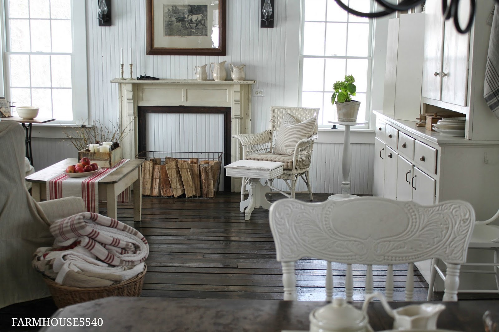 farmhouse 5540 family room part three