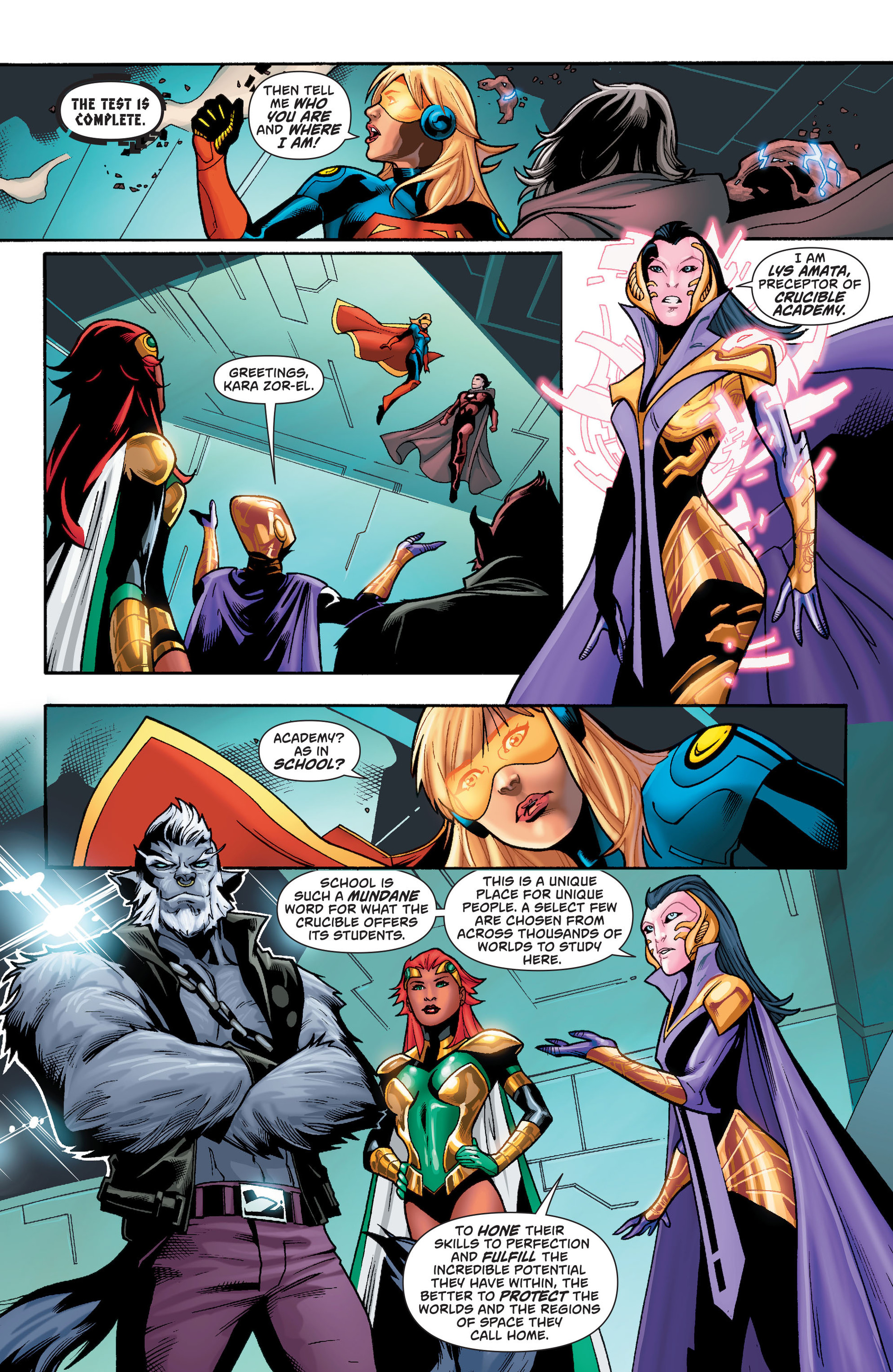Supergirl (2011) Issue #36 #38 - English 18