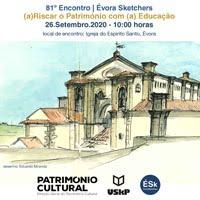 81º Encontro ÉSk | (a)Riscar o Património com (a) Educação, Évora