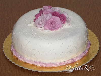 torta bouquet rose