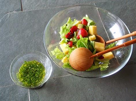 Enslada con frutas
