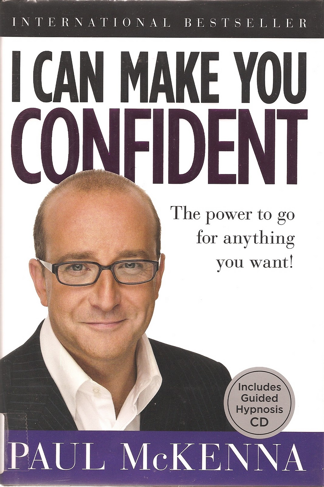My4Sense: I Can Make You Confident, by Paul McKenna--Book