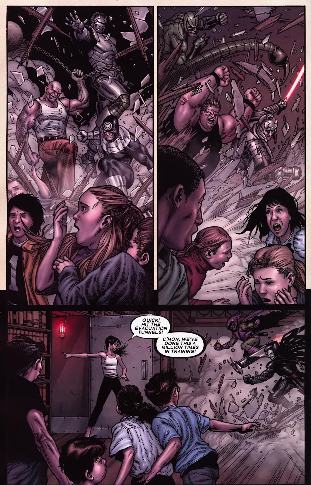 Read online Wolverine (2003) comic -  Issue #70 - 7