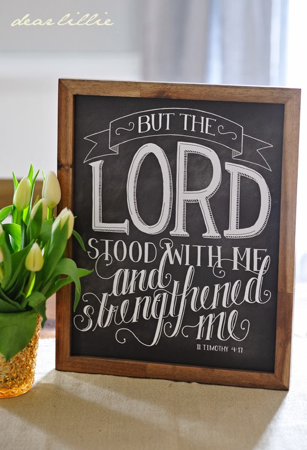 http://www.dearlillie.com/product/the-lord-stood-with-me-11x14-chalkboard-print
