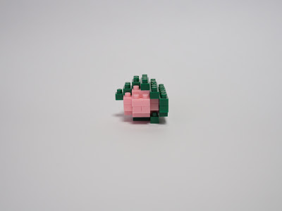 ナノブロックで作った桜餅