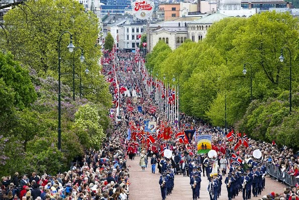 Norway's National Day Celebrations 2015