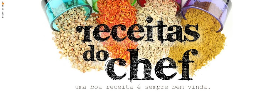 Receitas do Chef