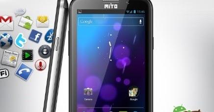 Mito A220 Handphone Android Super Murah ICS Dual SIM Layar